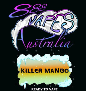 888Vapes - Chill'd Killer Mango - Vape Gold Coast