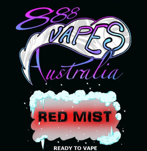 888Vapes - Chilled Red Mist - Vape Gold Coast