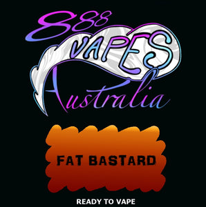 fat bastard 888 vapes australia ejuice vape
