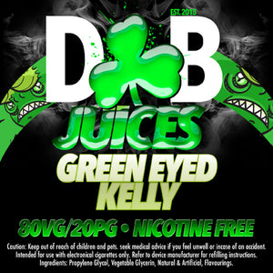 D&B Juice - Green Eyed Kelly - Vape Gold Coast