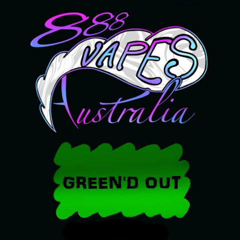 888Vapes - Green'd Out - Vape Gold Coast
