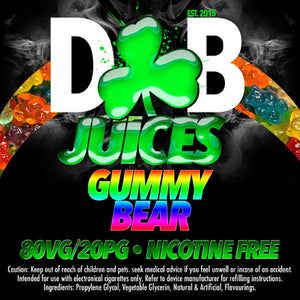 D&B Juice - Gummy Bears - Vape Gold Coast