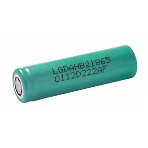 LG HB2 18650 High draw Lithium Ion Battery - Vape Gold Coast
