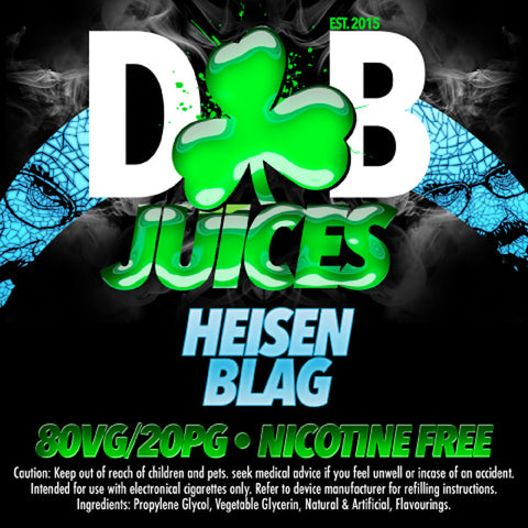 D&B Juice - Heisenblag - Vape Gold Coast