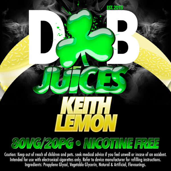 D&B Juice - Keith Lemon - Vape Gold Coast