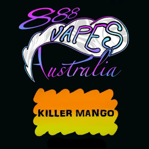 888Vapes - Killer Mango - Vape Gold Coast