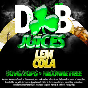 D&B Juice - Lemcola - Vape Gold Coast