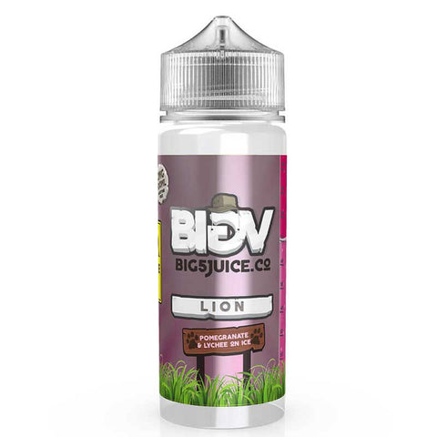 BIG 5 Juice Co - Lion - Vape Gold Coast