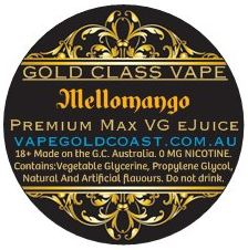 Gold Class Vape - Mellomango (Watermelon/Mango) - Vape Gold Coast