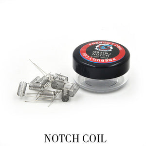 Stainless Steel Notch Coils - Vape Gold Coast