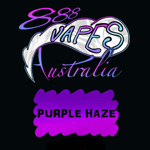 888Vapes - Purple Haze - Vape Gold Coast