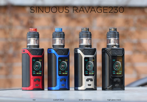 Wismec Sinuous Ravage 230w Starter Kit