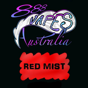 888Vapes - Red Mist - Vape Gold Coast