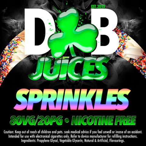 D&B Juice - Sprinkles - Vape Gold Coast