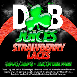 D&B Juice - Strawberry Laces (Belts) - Vape Gold Coast