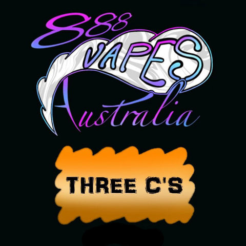 888Vapes - Three C's - Vape Gold Coast