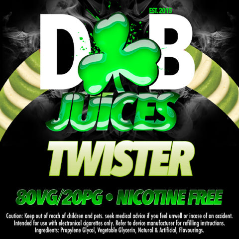 D&B Juice - Twister - Vape Gold Coast