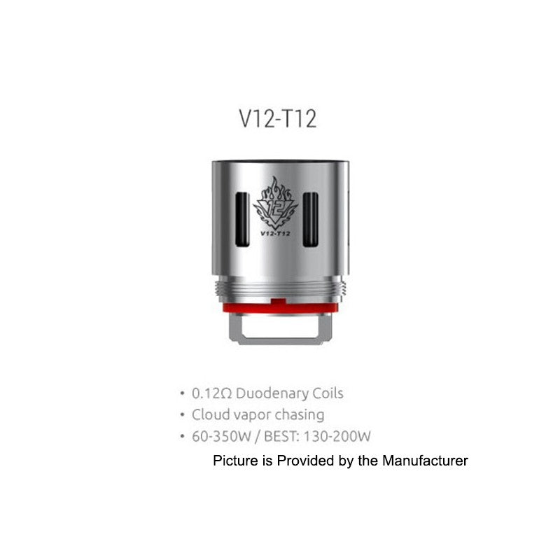 Replacement Coil 0.12 ohm TFV12 - T12 - Vape Gold Coast