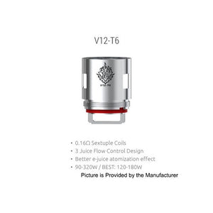 Replacement Coil 0.17 ohm TFV12 - T6 - Vape Gold Coast