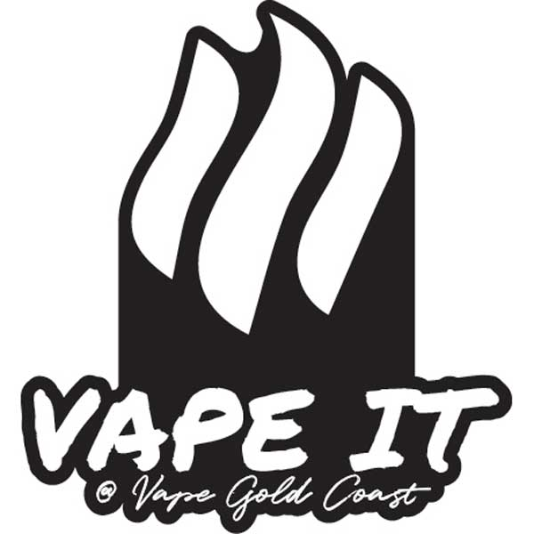 Vape Gold Coast Vape It Stickers