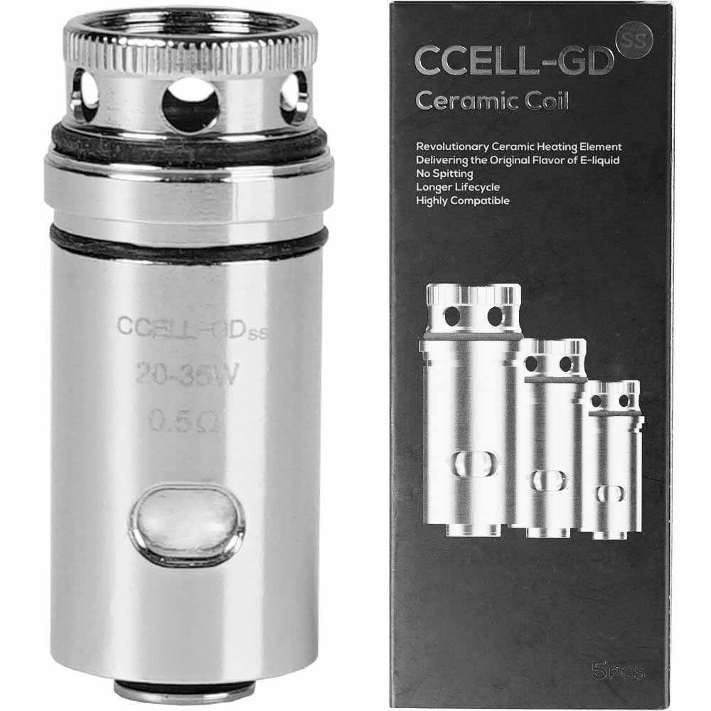 Vaporesso - CCELL - GD Ceramic Replacement Coils Suit Target Mini And Guardian Tank
