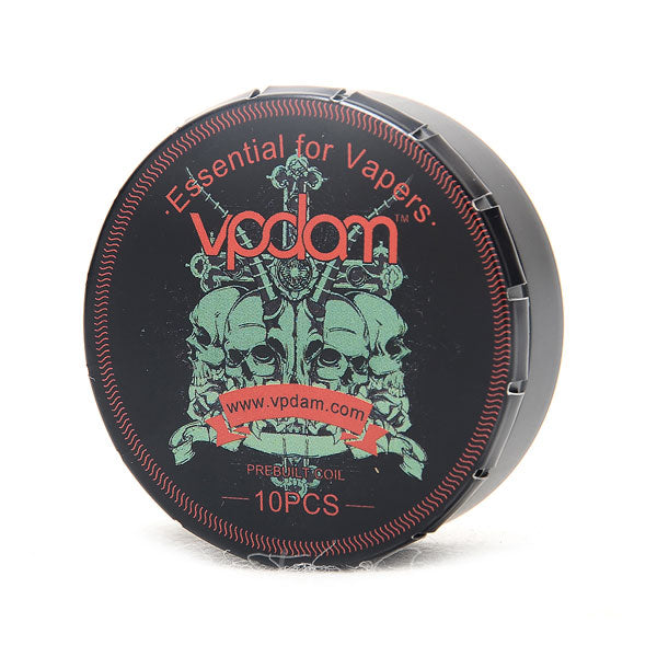 Vpdam Fused Clapton Coils 10 Pack