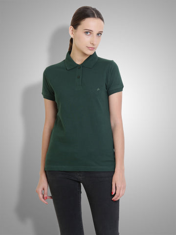 Polo Nation Women Polo (Green)