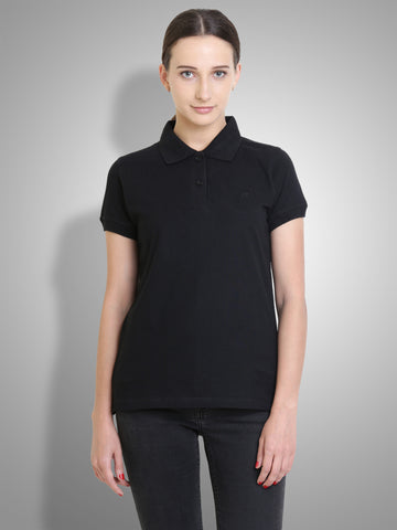 Polo Nation Women's Polo (Black)