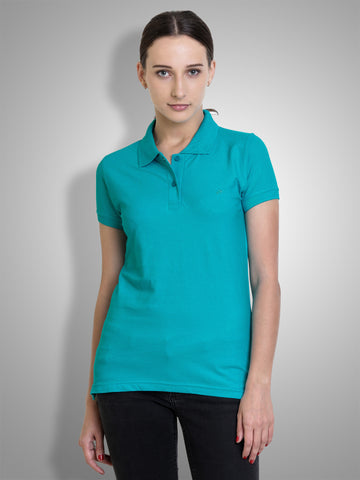 Polo Nation Women Polo (Turquoise)
