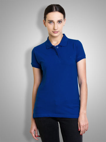 Polo Nation Women's Polo (Royal Blue)