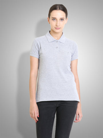 Polo Nation Women's Polo (Grey)
