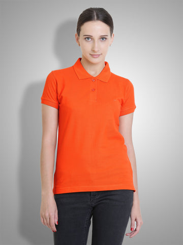 Polo Nation Women's Polo (Orange)