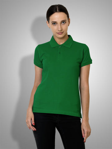 Polo Nation Women's Polo (Light Green)