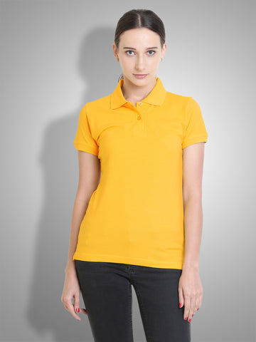 Polo Nation Women's Polo (Yellow)