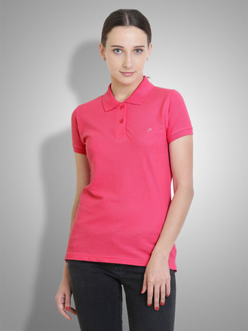 Polo Nation Women Polo (Pink)