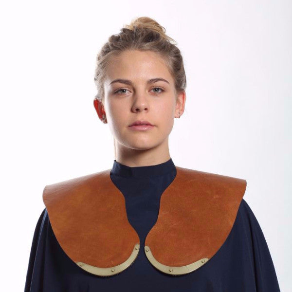 Leather Cutting Collar - Tan