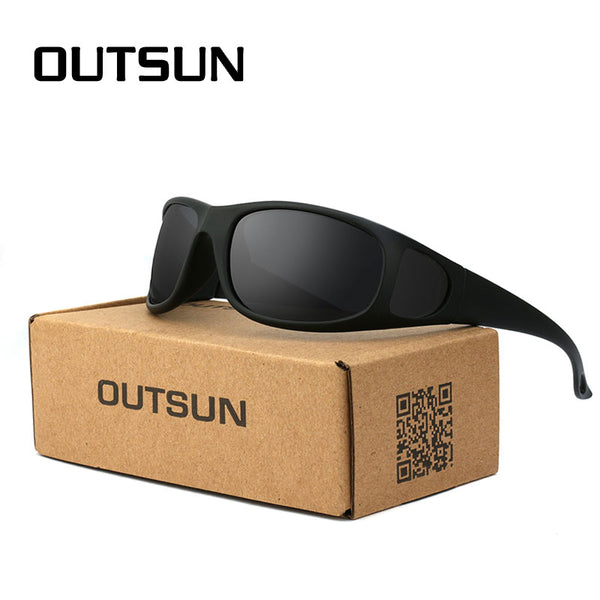 Mens Flexible Sunglasses Polarized Lens, Neck Strap & Case available in Camouflage for fishing, hunting, hiking, outdoors