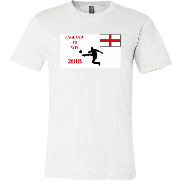 "Mens Tee ""England to Win"" World Cup 2018 Tee Shirt"