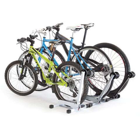 3 Feedback Sports RAKK Home Bike Storage Racks Connected Together
