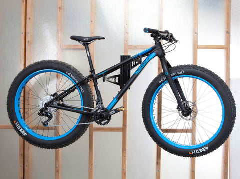 Velo Wall Rack Wall Mounted Bicycle Storage Holding Fat Bike