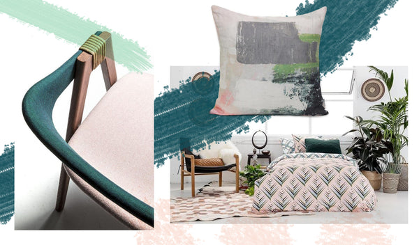 Colour Spotlight: Blossom, Mediterranean & Mint
