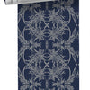 Classic Wattle Wallpaper - Midnight/Lake