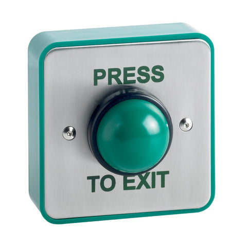 GREEN DOME PUSH BUTTON