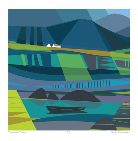CONNEMARA EVENING ART PRINT