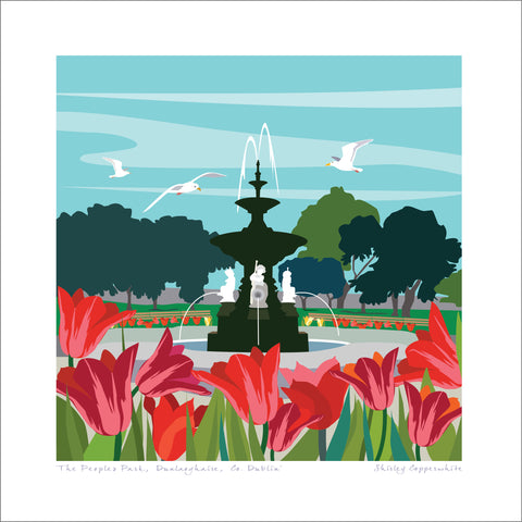 The Peoples Park Art Print