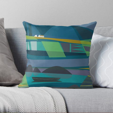 """Connemara Evening"" Cushion"