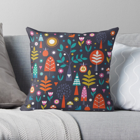 """Little Trees"" Cushion"