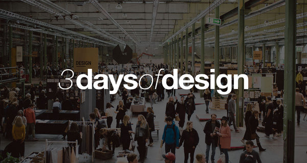 August Sandgen at 3daysofdesign, May 23rd - 25th 2019 in Copenhagen