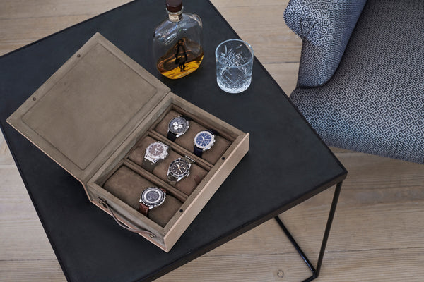A Watchbox made with love for craftsmanship