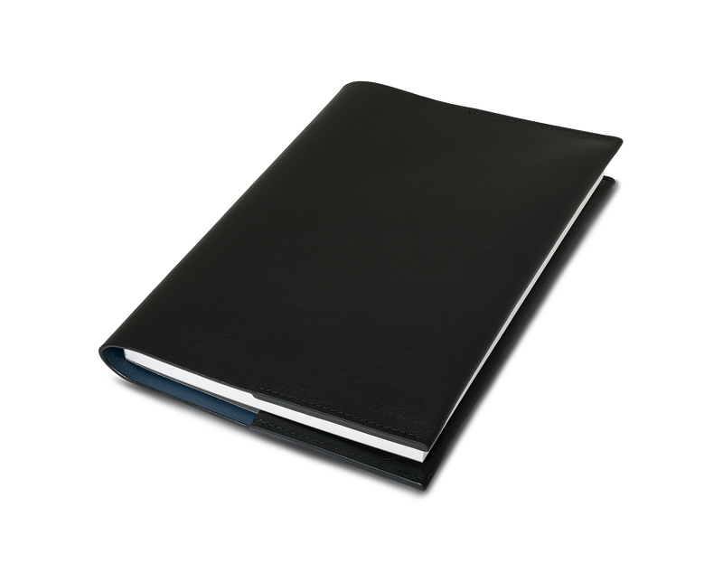 The Notebook: Leather - Black - A5